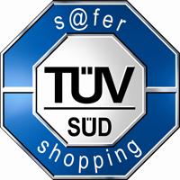 TÜV Süd S@fer Shopping Zertifikat